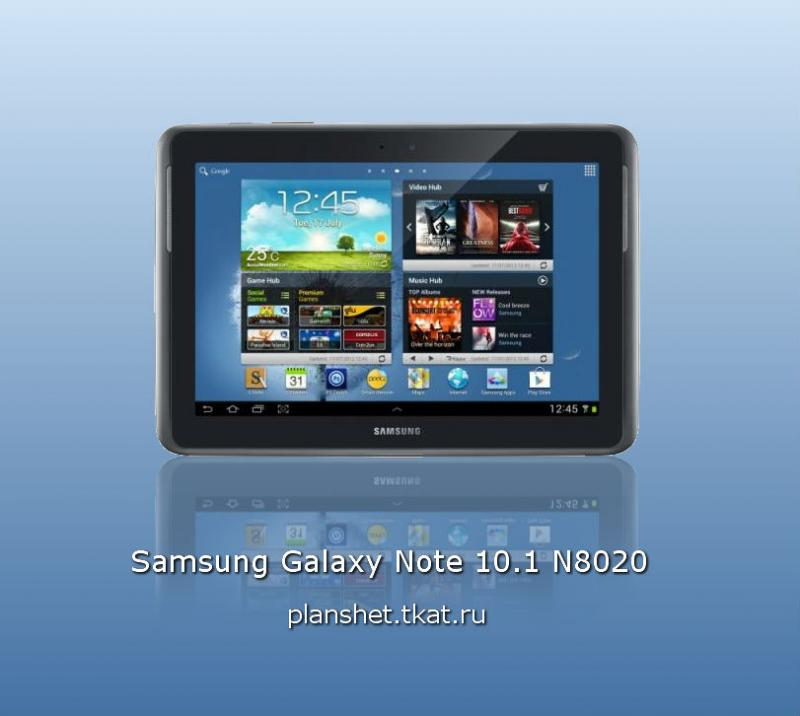 SAMSUNG GALAXY NOTE N8020