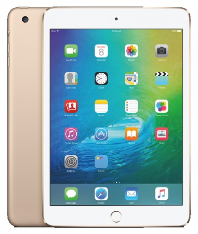 APPLE IPAD MINI 4 16GB WI FI CELLULAR SILVER